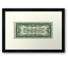 Old Money Dollar Print Framed Print