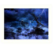 Storm Version Art Print