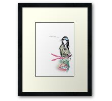 Forget me not Framed Print