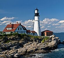 Portland Head Light by Kathy Weaver