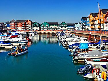 Exmouth Marina 2 ~ Devon by Susie Peek