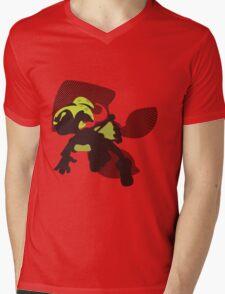Light Green Male Inkling - Splatoon Mens V-Neck T-Shirt