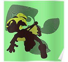 Light Green Male Inkling - Splatoon Poster