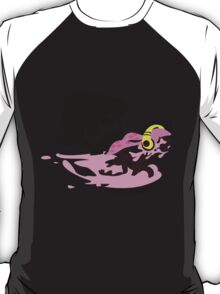 Pink Female Inkling - Sunset Shores T-Shirt
