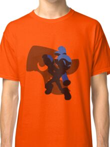 Dark Blue Male Inkling - Sunset Shores Classic T-Shirt