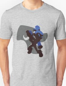 Dark Blue Male Inkling - Sunset Shores Unisex T-Shirt