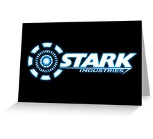 Stark Industries Greeting Card
