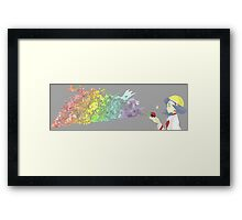 pokemon art anime shirt Framed Print