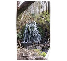Water Fall Beauty Nature Poster