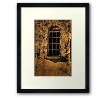 Room With A View  - Beechworth Lunatic Asylum - The HDR Experience Framed Print