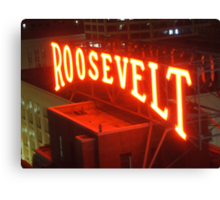 Roosevelt Canvas Print