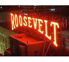 Roosevelt Photographic Print