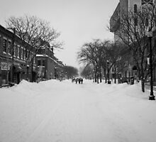 Wintry Boston by IsaPagani