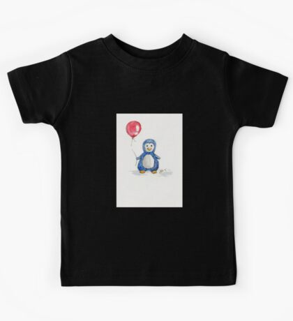 Puddle penguin Kids Tee