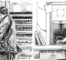 BR ticket clerks by Woodie