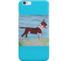 Bull terrier awe iPhone Case/Skin