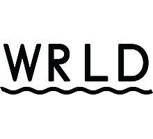 WRLD Photographic Print