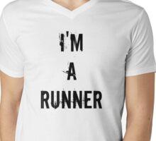I'm A Runner  Mens V-Neck T-Shirt