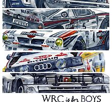 WRC is for boys, Group B was for men by dareba