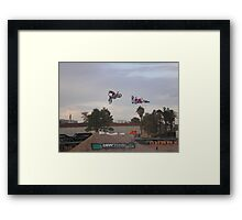 Mountain Dew Tournament Framed Print