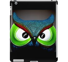 An Owl Bright and colorful iPad Case/Skin