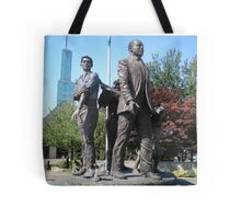 Martin Luther King Statue Tote Bag
