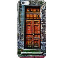 The Old Yellow Door Fine Art Print iPhone Case/Skin