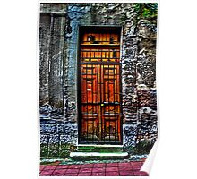 The Old Yellow Door Fine Art Print Poster