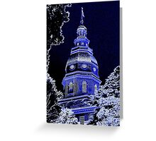 Maryland State House Greeting Card