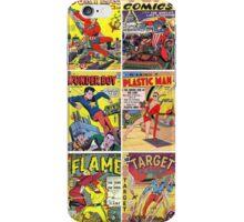 Retro Color Comic Splash iPhone Case/Skin
