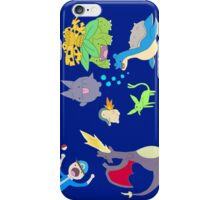pokemon derp espeon charizard venusaur chibi anime shirt iPhone Case/Skin
