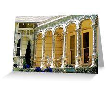 Ironlace verandah Greeting Card