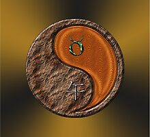 Taurus & Horse Yang Wood by astrodesigner75