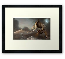 Flight of the Griffin Framed Print