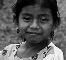 Smiling girl by Karel Kuran