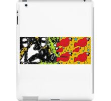 the lamb and the eagle - ruffled feathers and torn pages 3 iPad Case/Skin