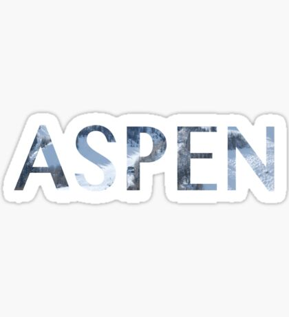 Aspen Sticker