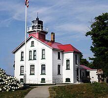 Grand Traverse Light by Kathy Weaver