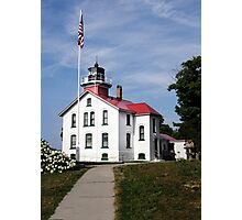 Grand Traverse Light Photographic Print