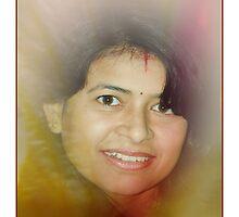 A face by Dr. Harmeet Singh