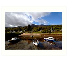 Corrie Harbour Art Print