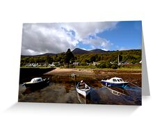 Corrie Harbour Greeting Card