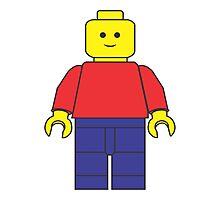 Original Lego Mini Figure Photographic Print
