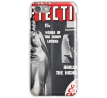 Pulp Detective Lover iPhone Case/Skin