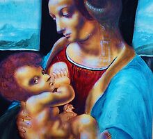 Impression of the Virgin and Child by tonyflake2