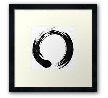 Enso Framed Print