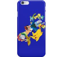 pokemon ash pikachu anime shirt iPhone Case/Skin