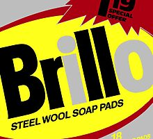 Brillo Box Package Colored 2 - Warhol Inspired by peterpotamus
