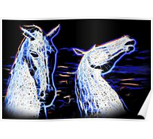 Electric Kelpies Colour Poster