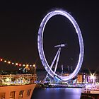 Colourful London Eye by Andrew Simner